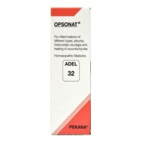 Adel Germany Homeopathy - Adel 32 - Opsonat Drops 20 ml