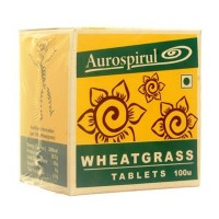 Aurospirul - Wheatgrass 100 Tablets