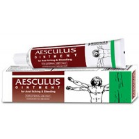 Bakson's Homeopathy - Aesculus Ointment 25 g