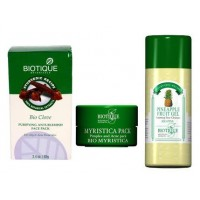 Biotique - Bio Acne Treatment Set (3 products)