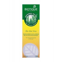 Biotique - Bio Aloevera Face & Body Sun Lotion SPF30 - 120 ml