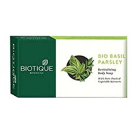 Biotique - Bio Basil And Parsley Soap 75 g