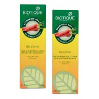 Biotique - Bio Carrot Protective Body Lotion SPF 40 - 120 ml