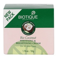 Biotique - Bio Coconut Whitening & Brightening Cream 50 g