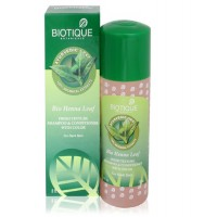 Biotique - Bio Henna Leaf Fresh Texture Shampoo & Conditioner with Color 190 ml