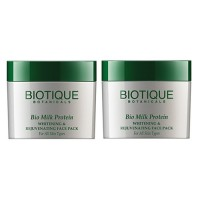 Biotique - Bio Milk Protein Whitening & Rejuvenating Face Pack 50 g