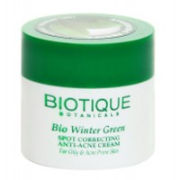 Biotique - Bio Winter Green Spot Correcting Anti Acne Cream 15 g