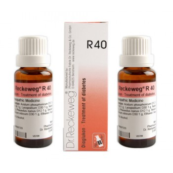 Dr  Reckeweg R40 Germany|Diaglucon Drops|Homeopathic