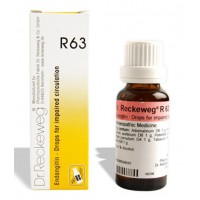 DR. RECKEWEG R63 - Endangitin Drops for Impaired Circulation 22 ml