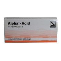 Dr. Schwabe Homeopathy - Alpha-Acid 40 Tablets