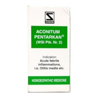 Dr. Schwabe Homeopathy - Aconitum Pentarkan Tablets 20 g