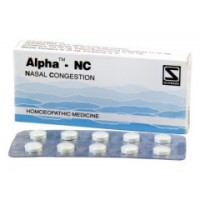 Dr. Schwabe Homeopathy - Alpha-NC 40 Tablets