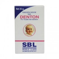 SBL Homeopathy - Denton Tablets for Delayed and Difficult Dentition 25 g