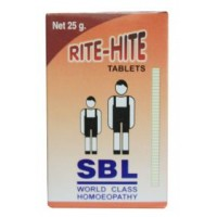 SBL Homeopathy - Rite-Hite Tablets - Growth Promoter 25 g